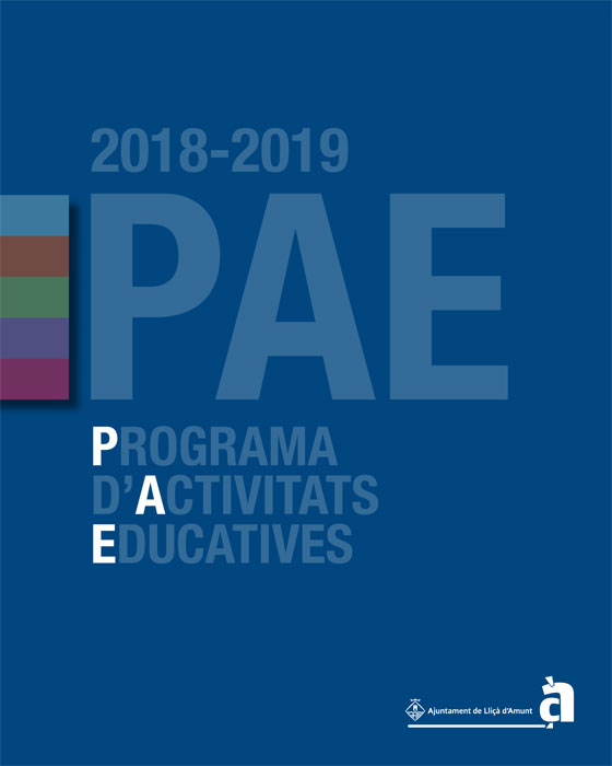 PAE (Programa d'Activitats Educatives) 2018-19